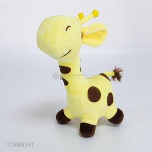 Hot selling plush toy custom stuffed giraffe toy