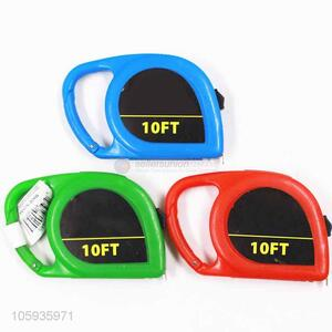 Factory price colorful carabiner shape tape measure