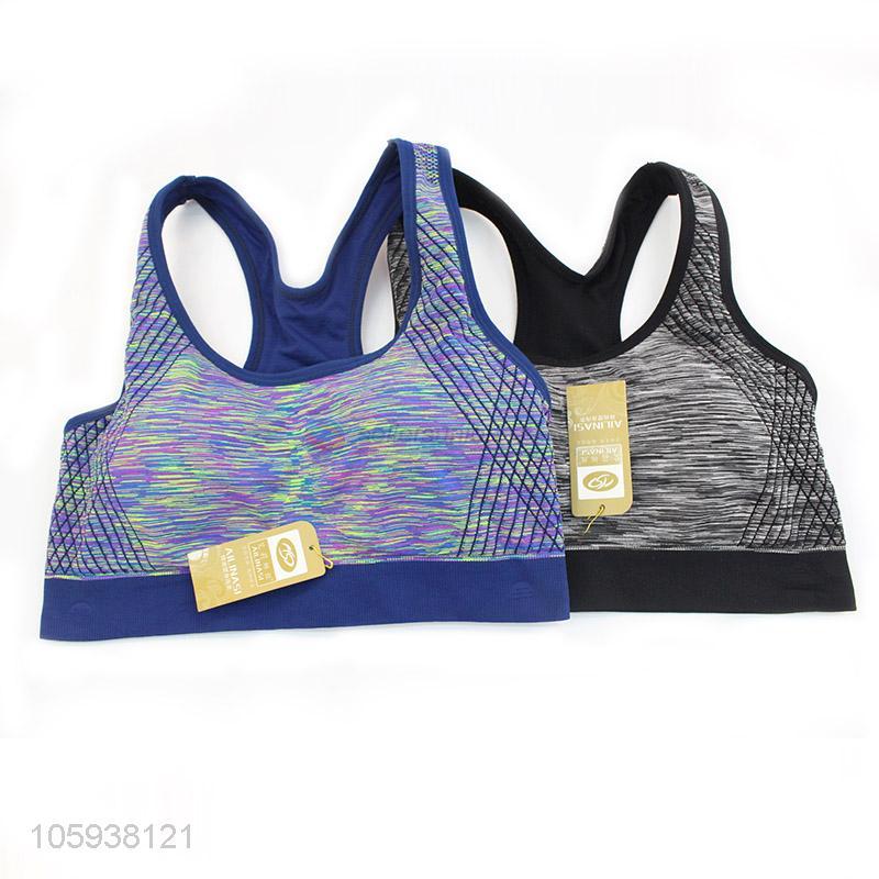 4616de984f75 Fashion Design Breathable Sex Womens Sport Bra - Sellersunion Online