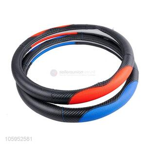 High Quality Leather Splicing Car Steering Wheel Cover
