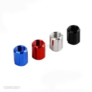 Good Sale 4 Pieces Colorful Car Wheel Tire Valve Cap