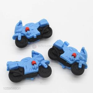 Good factory price 3d eraser in motorcycle shape