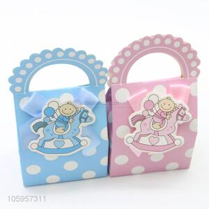 Good factory price baby gift candy boxs for birthday party