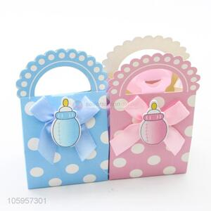 Wholesale baby candy box gift favor boxes