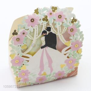 Wholesale elegant candy packing boxes wedding gift paper boxes