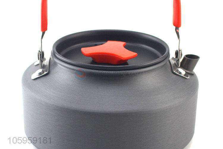 Direct price outdoor camping kettle portableteapot camping cookware
