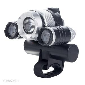 Wholesale bicycle headlight cycling led front lamp flashlight  full aluminum casing