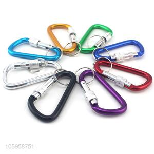 Hot selling alloy mountaineering buckle aluminum carabiner