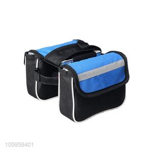 Multi-function water resistant front bicycle storage bag portable