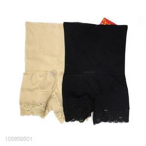 Wholesale custom women shapewear seamless high waist panties with lace