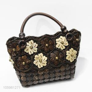 Best Quality Decorative Craft Flower Handmade Handbag