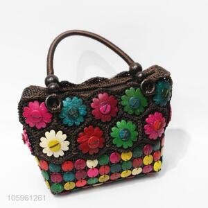 Good Sale Colorful Craft Flower Accessories Handbag