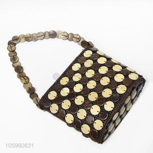 Wholesale Coconut Shell Beads Shoulder Bag