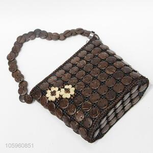 Best Selling Coconut Shell Beads Shoulder Bag
