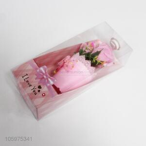 Fashion design artificial rose flower gift with LED light Valentine's day presents