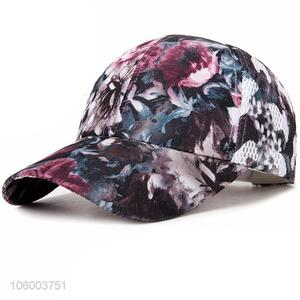 Cheap price men's personality casual wild cap cotton floral hat