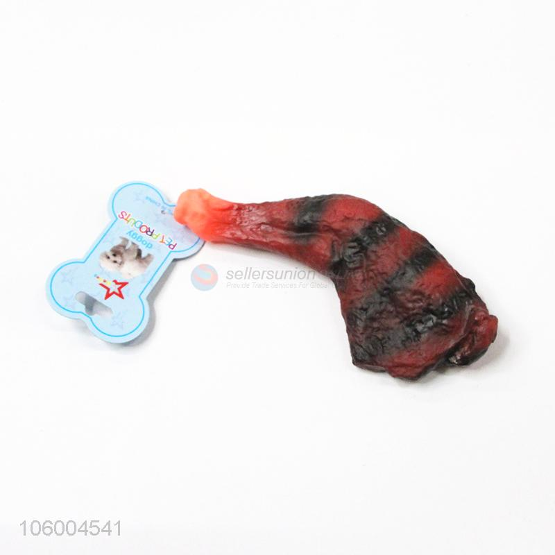 Wholesale unique design pet toys like a meat - Sellersunion Online