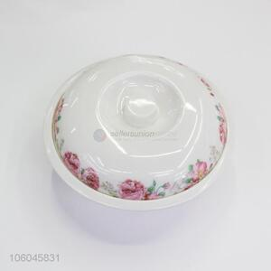 Wholesale beautiful printed household melamine soup bowl
