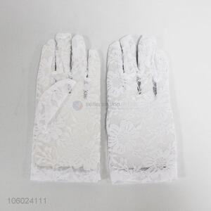 New arrival wedding accessories lace bridal gloves