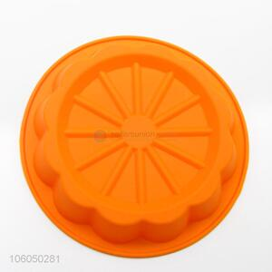 Hot silicone round shape cake mold /silicone single mould