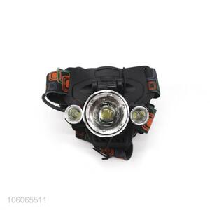 Utility battery-powered led head torch light head lamp