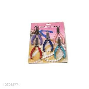Yiwu factory 5pcs/set portable mini steel pliers