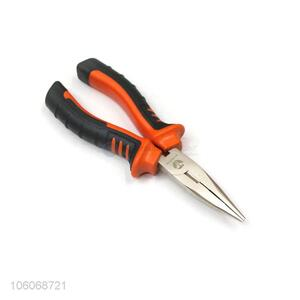 Wholesale price steel long nose pliers hand tools