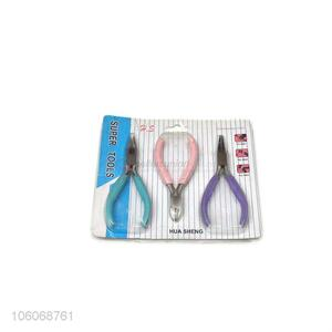 Good sale hand tools 3pcs/set mini steel pliers