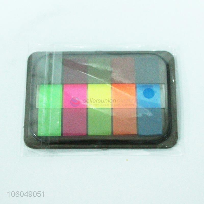 High Sales Self Adhesive Pvc Sticky Notes For Recording Convenient Pads