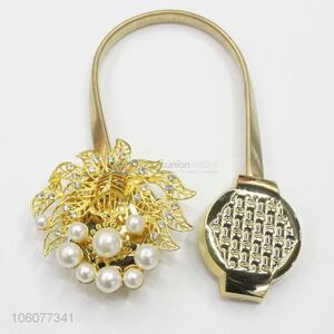 New style delicate alloy megnetic curtain tiebacks buckle