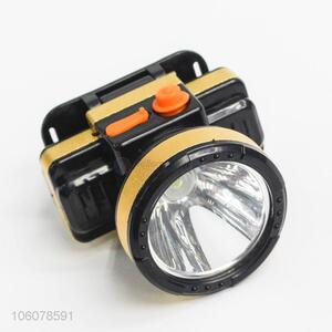 Wholesale price lithium battery powered rechargeable led headlamp