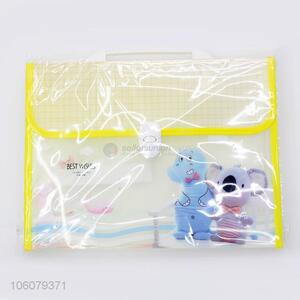 Cartoon Printing Expanding File Fashion File Bag