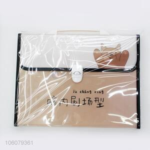 Best Selling Plastic Expanding File Fashion File Bag