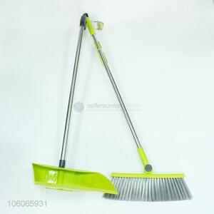 Custom Stainless Steel Handle Broom & Dust Pan Set