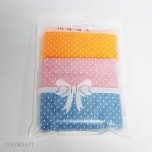 Good Sale 3 Pieces Colorful Cleaning Towel
