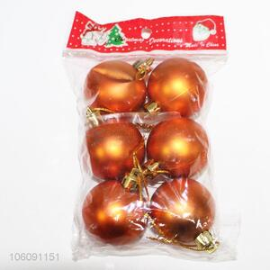 Hot style 6pcs Christmas ball for Christmas tree ornament