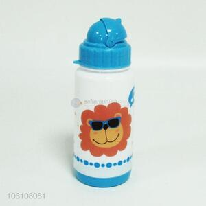 Best sale cute cartoon pattern kids plastic drinking water bottle