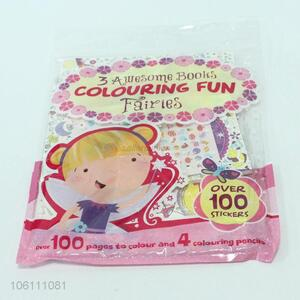 China cheap full color hardcover coloring book printing set ...