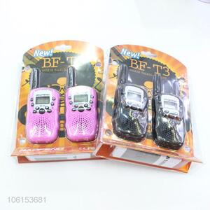 Good Quality 2 Pieces Walkie Talkie Interphone Set