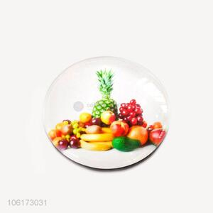 China factory cuke design dome glass fridge magnet