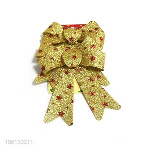 Custom 2 Pieces Christmas Decorative Bowknots