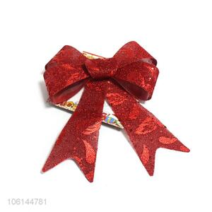 Delicate Design Colorful Bowknot Best Christmas Decoration