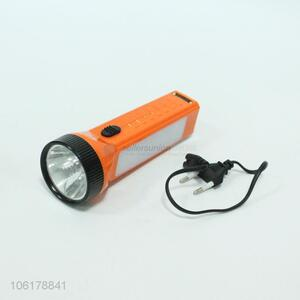 Factory Wholesale Solar Rechargeable Flashlight