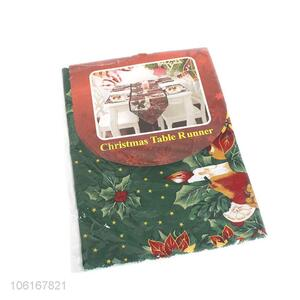 Factory price polyester printing christmas table flag
