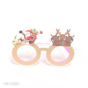 Low price cute paper glasses for Christmas party