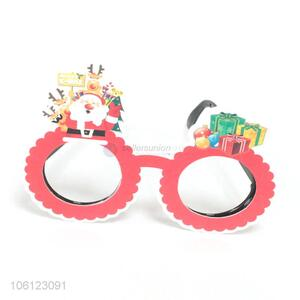 Promotional lovely paper glasses for Christmas party