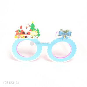Hot selling cute paper glasses for Christmas party