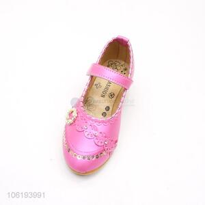 Promotional Item Leather Girl Casual Shoes