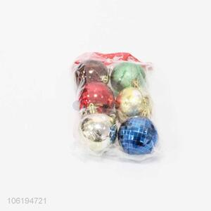 Factory Manufacture Colorful Christmas Ball Set