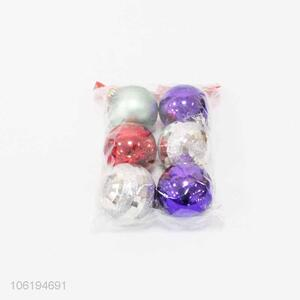 Fashion Festival Decoration Colorful Christmas Ball Set
